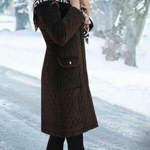 مانتو زمستانه